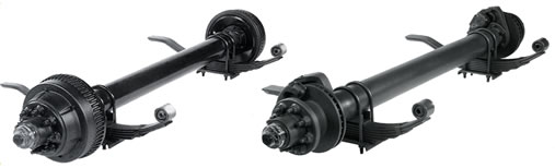 20,000 lb. and 24,000 lb. Tandem Trailer Axle Assemblies