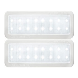 Opti-Brite ™  LED Mini Dome Light Pair Cool White
