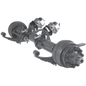 16,000 lbs. Dual Wheel Trailer Axles