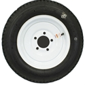 Twelve Inch Five Lug Wheel & Tire