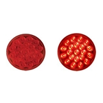 "4"" Round Sealed LED Stop/Turn/Tail Light (21 diodes)"