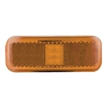Amber Rectangular Thin Line LED Marker/Clearance Light
