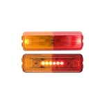 Red/Amber Thin Line Sealed LED Fender Light