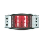 Red Armored Die Cast LED Marker/Clearance Light