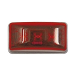 Red Sealed Mini Rectangular LED Marker/Clearance Light
