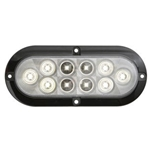 "6"" Oval Sealed Clear LED Utility Light"