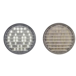 "4"" Round Sealed Clear DOT LED Back-Up Light"