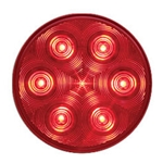 "4"" Round Sealed LED Stop/Turn/Tail Light (7 diodes)"