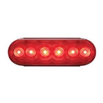"6"" Oval Sealed LED Stop/Turn/Tail Light (6 diodes)"
