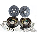 "5-5.5"" Bolt Circle 3,500 lbs. Trailer Axle Electric Brake Kit"