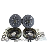 "8-6.5"" Bolt Circle 7,000 lbs. Trailer Axle Electric Brake Kit"