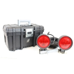 Heavy Duty Towing Lights with Carrying Case 4 Way Plug