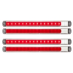 FUSION ™  19-LED Thinline Combination  Stop/Turn/Tail/Back-Up Light Pair
