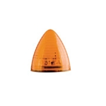 "Amber 2.5"" Beehive Sealed LED Marker/Clearance Light"