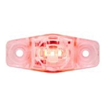Clear Lens Red Mini Sealed LED Horizontal-Vertical  Marker/Clearance Light