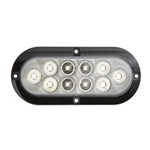 "6"" Oval Sealed LED Utility Light for Surface Mount"