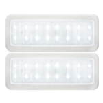 Opti-Brite ™  LED Mini Dome Light Neutral White Pair