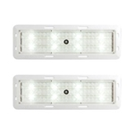 Opti-Brite ™  LED Motion Sensor Dome Light Pair