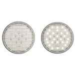 "4"" Round Sealed Clear DOT LED Back-Up Light 27-LED"