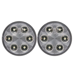 "FLEET Count™ 4"" Round Sealed DOT LED Back-Up Light Pair"