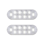 "6"" Oval Sealed DOT LED Back-Up Light Pair"
