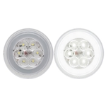 "GloLight 4"" Round Sealed DOT LED Back-Up Light"