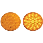"4"" Round Sealed LED Strobe Warning Lamp Function 1"