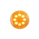 "7"" LED Warning Lights for Surface Mount Amber"