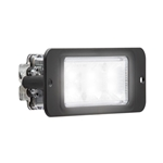 Recess Mount LED Directional Warning Light White