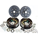 "5-5"" Bolt Circle 3,500 lbs. Trailer Axle Electric Brake Kit With Timken Bearings"