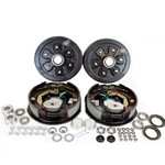 "6-5.5"" Bolt Circle 3,500 lbs. Trailer Axle Electric Brake Kit With Timken Bearings"