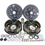 "5-4.75"" Bolt Circle 3,500 lbs. Trailer Axle Self-Adjusting Electric Brake Kit With Timken Bearings"